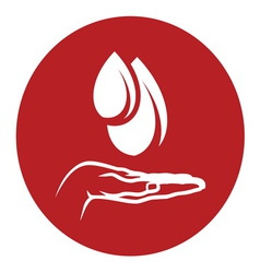 blood donation3 vector image