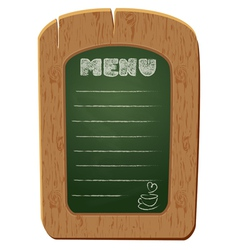 board menu 380 vector image