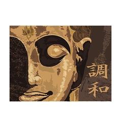 Buddha design vector image