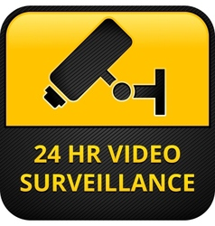 Cctv pictograms web button eps 10 vector