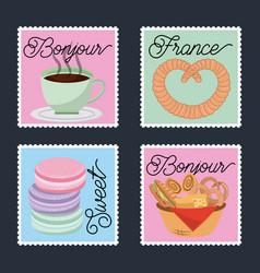 France paris card vector