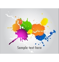 ink blob vector image