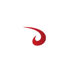 Loop abstract art design logo vector