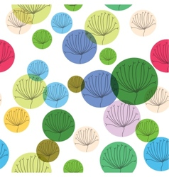 Natural Seamless Patterns Backgrounds vector image