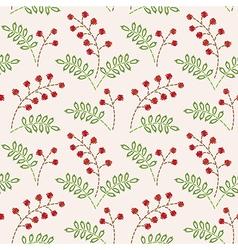pattern berries vector image