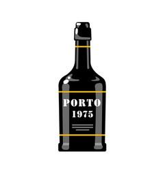 portuguese wine vector image