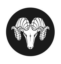 Ram sign vector