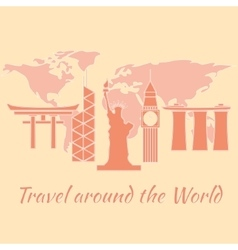 Travelaroundtheworld vector
