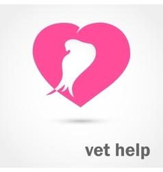 Vet help vector image