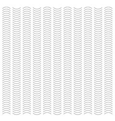 seamless wave and vertical stripe pattern simple vector image