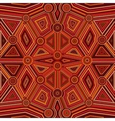 Abstract style of Australian Aboriginal art vector image