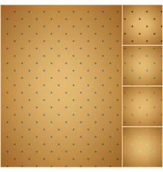 faded colorful polka dot seamless textured pattern vector image