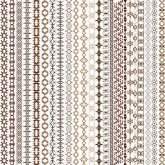 Ethnic texture vector