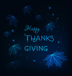 Happy thanksgiving greeting card template with vector