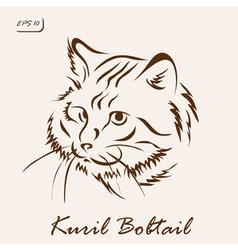 Kuril Bobtail vector