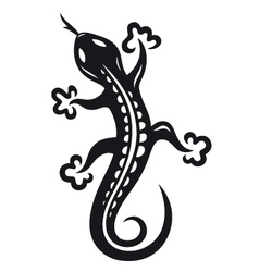 Lizard animal vector
