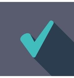 Ok icon vector image