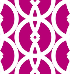 Seamless bold geometrics pattern vector image