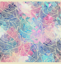seamless pattern paisley vector image vector image