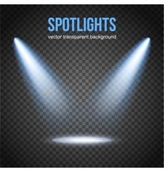 Spotlight isolated Scene illumination vector image