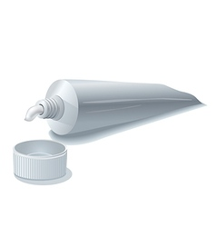 toothpaste tube vector image