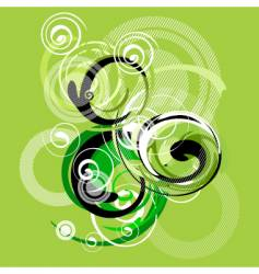 tribal swirl vector image