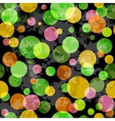 grunge spotty pattern vector image