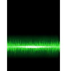 Abstract burn waveform EPS 8 vector image
