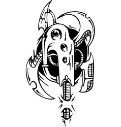 Biomechanical Designs vector image