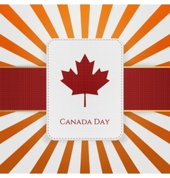 canada day sale special emblem vector image