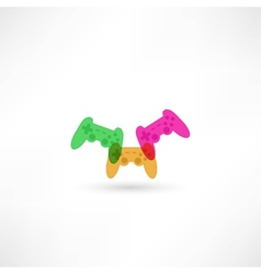 game joypad icon vector image