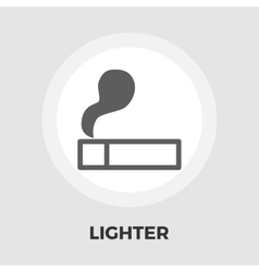 Lighter flat icon vector image