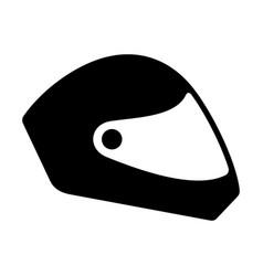 Paragliding helmet vector