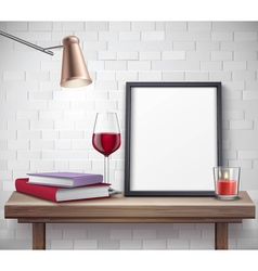 Realistic Frame Template vector image