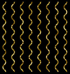 sequins seamless pattern vertical wave vector image