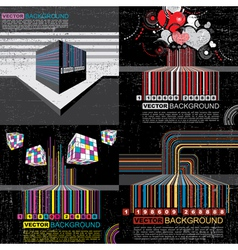 Set of barcode vector