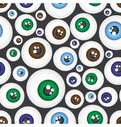 simple color eyes pattern eps10 vector image
