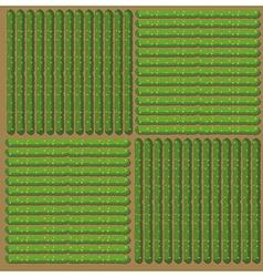 Simple pattern crop vector