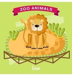 Zoo Animal Lion vector image