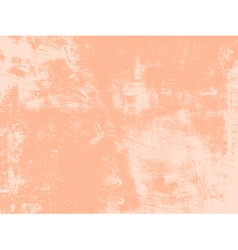 Peach Grunge Texture vector image