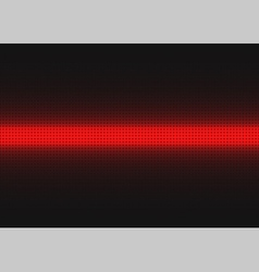 Red digital background vector image vector image