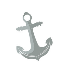 anchor for boat isolated icon vector image