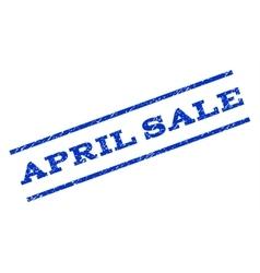 April Sale Watermark Stamp vector