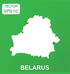 Belarus map icon business concept belarus vector