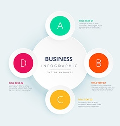Business infographic design vector