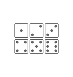 Dices-380x400 vector image