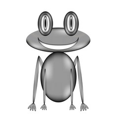 Frog sign icon vector
