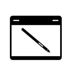 Graphics tablet vector
