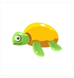 Green Turtle Icon vector image