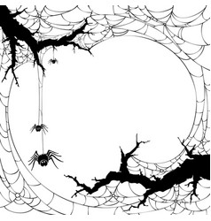 halloween backgrund vector image
